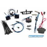 Traxxas TRX-4 LED tulede Kit Mercedes-Benz G 500 4x4² kerele
