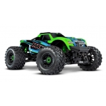 Traxxas MAXX VXL-4S TSM Monster Truck RTR (w/o Battery/Charger), Green