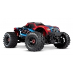 Traxxas MAXX VXL-4S TSM Monster Truck RTR (w/o Battery/Charger), Red X