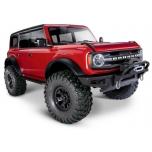 Traxxas TRX-4 2021 Ford Bronco 1/10 RTR, Red