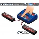 Traxxas DUAL EZ-Peak Plus Laadija 2972G + 2x 3S Lipo 5000mAh 2872X EU-Versioon