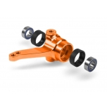 Xray Alu Steering Block With Bearings Orange (1)