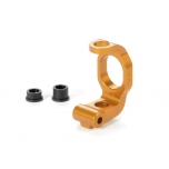 Xray Alu C-Hub Front Block - Right - 4deg. - ORANGE