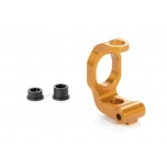 Xray Alu C-Hub Front Block - Left - 4deg. - ORANGE