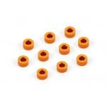 Xray Alu Shim 3x6x3.0mm - Orange (10)