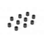 Xray Alu Shim 3x6x5.0MM - BLACK (10)