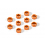 Xray Aluminum Shims 3x5x2.0 - Orange(10)