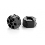 Xray XB4 Alu Wheel Hub 12MM Offset +2.25mm (2)