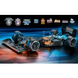 Xray X1 - 2018 Specs Luxury 1:10 Electric Formula Kit